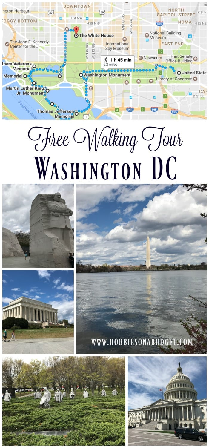 Free Walking Tour Washington DC Monuments