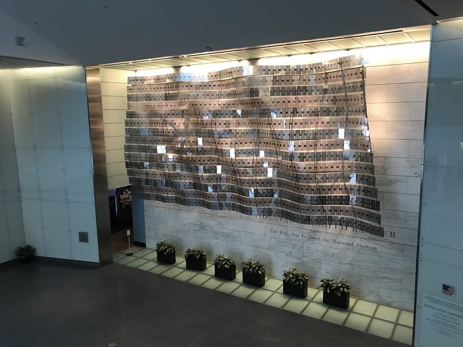 The Star Spangled Banner Exhibit
