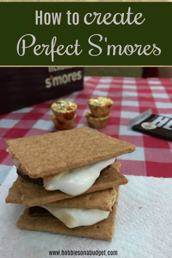 how to create perfect smores