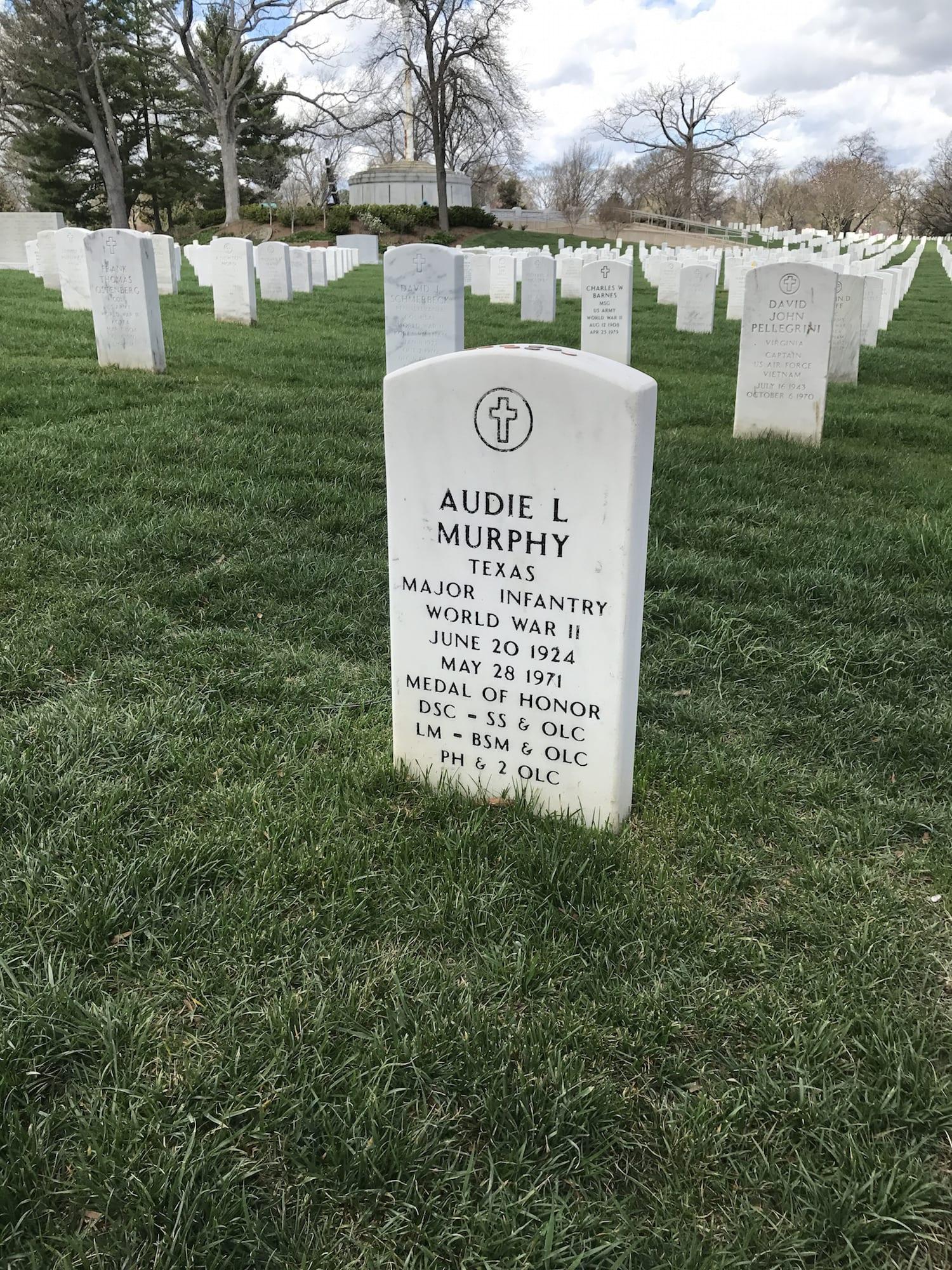 Gravesite of Audie Murphy