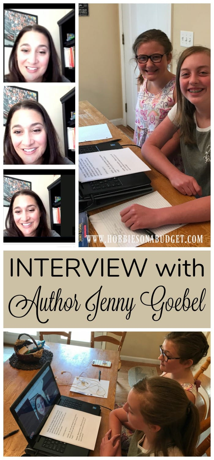 Natalie and Ashten interview Jenny Goebel, author of Fortune Falls, (Scholastic). Jenny shares tips for young authors & ideas for getting past writer's block.