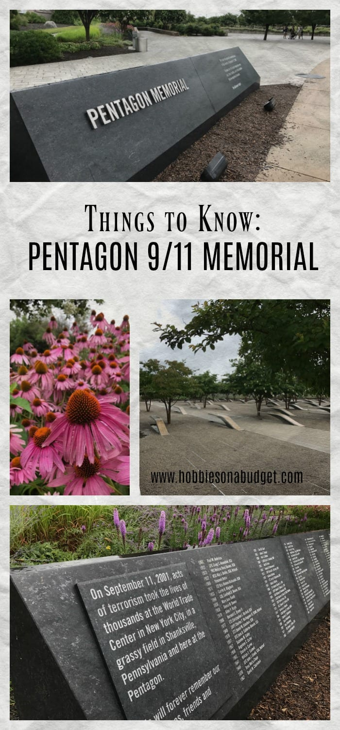 One of the things that we must do as we are raising our kids, is to help them understand and remember the things our nation has experienced.  A  visit to the Pentagon 911 Memorial in Washington DC is a great way to learn about the past and help our children understand American history.