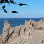 Chimney Bluffs State Park:  Lake Ontario