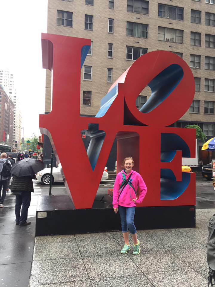 LOVE sculpture New York