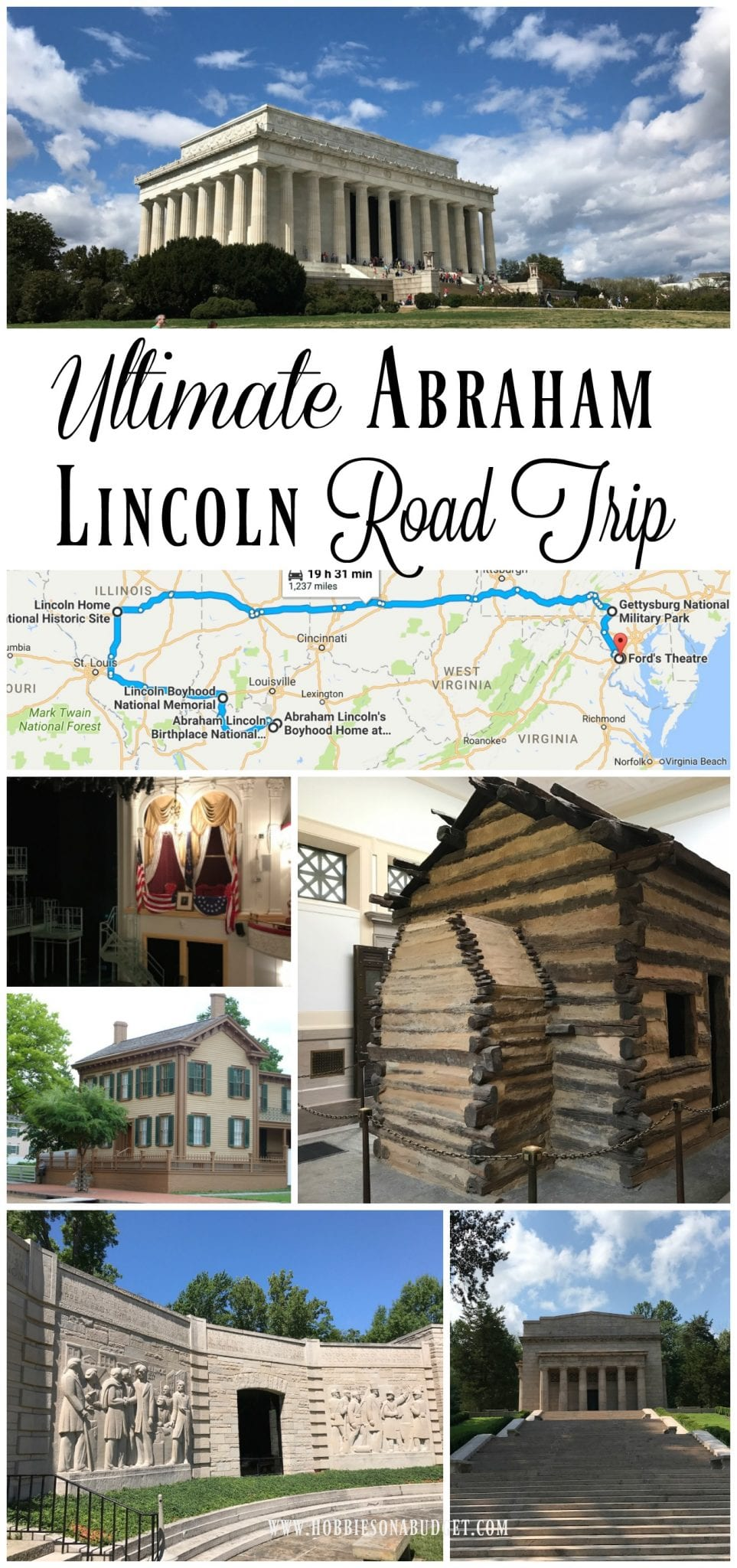 If you are interested in learning about our 16th President, Abraham Lincoln, then you need to actually go to the historic sites that have connections to this President. Here is the ultimate Abraham Lincoln road trip that will let you see the highlights of historical sites around the United States.