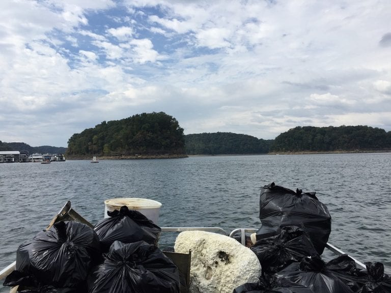 What to Expect at a Lake Cleanup Day