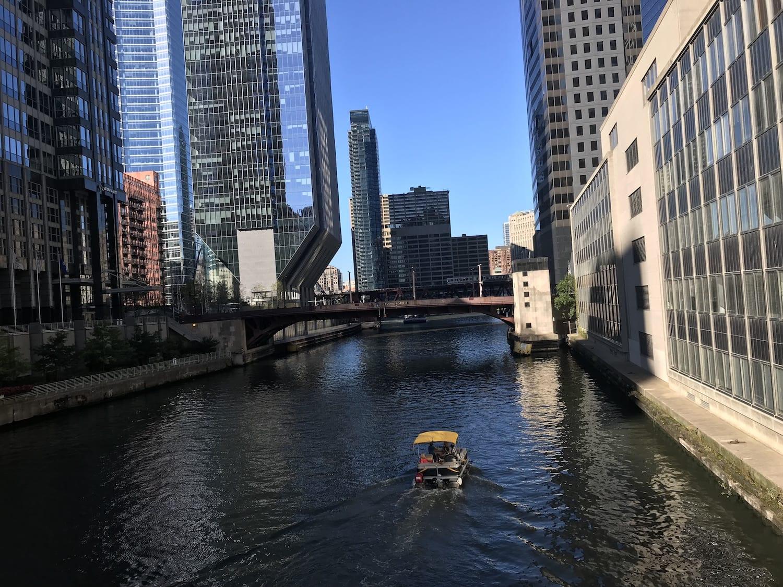 Chicago, Illinois city waterways