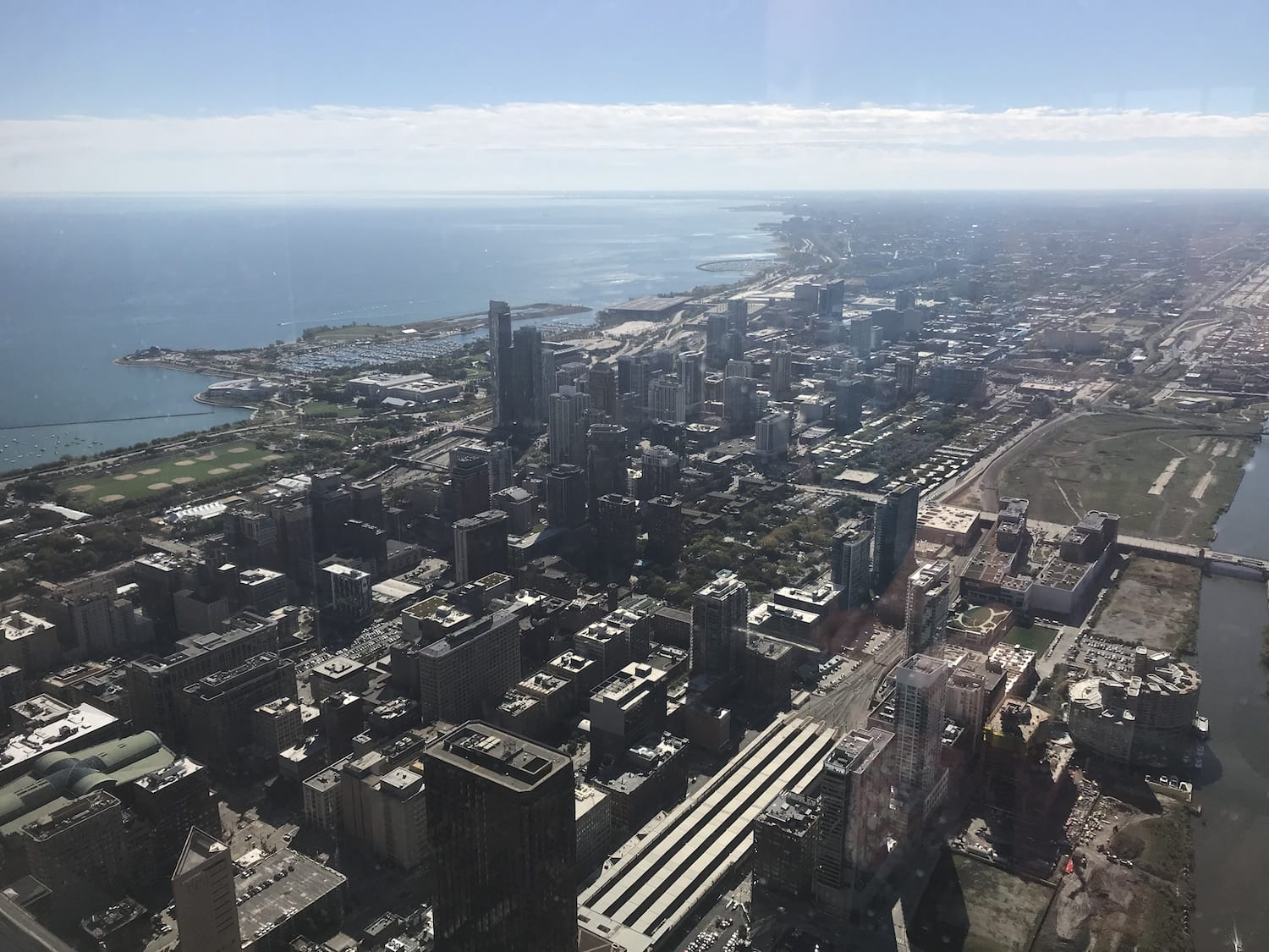 view from Willis Tower Chicago Illinois