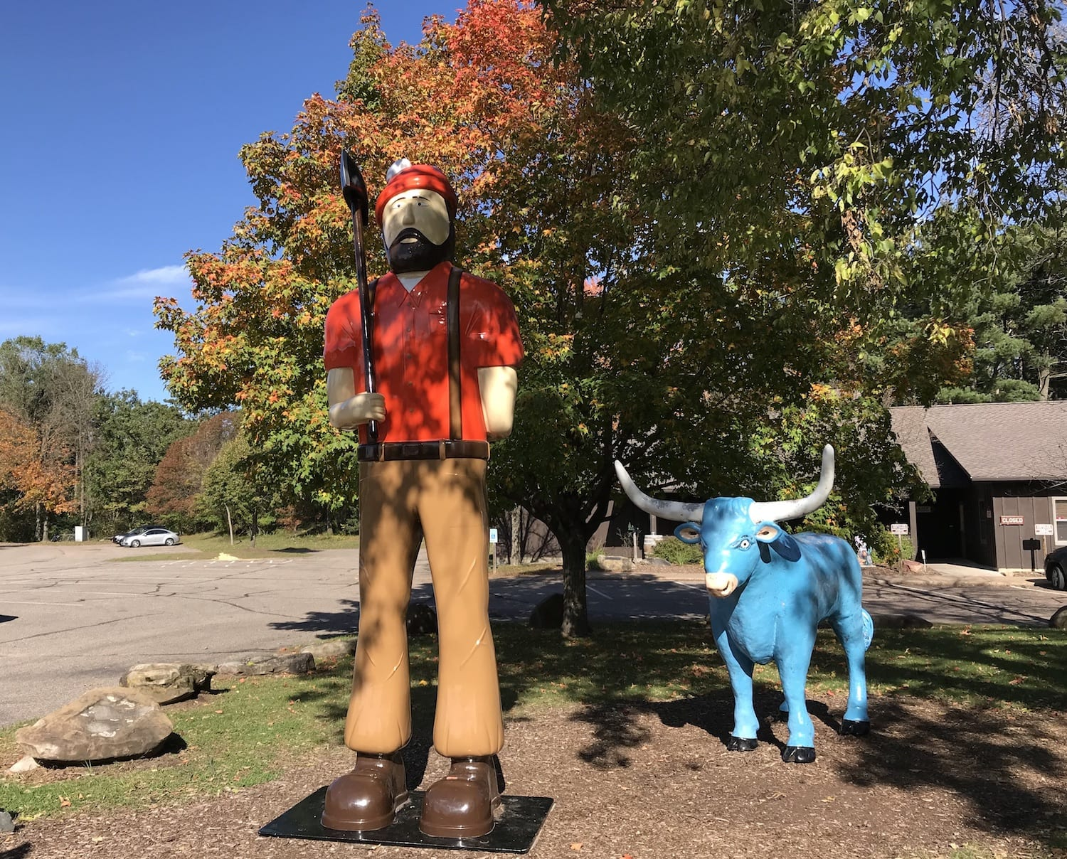 Paul Bunyan Logging Camp Museum, EauClaire, Wisconsin