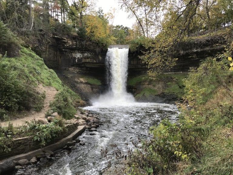 Exploring Minnehaha Falls