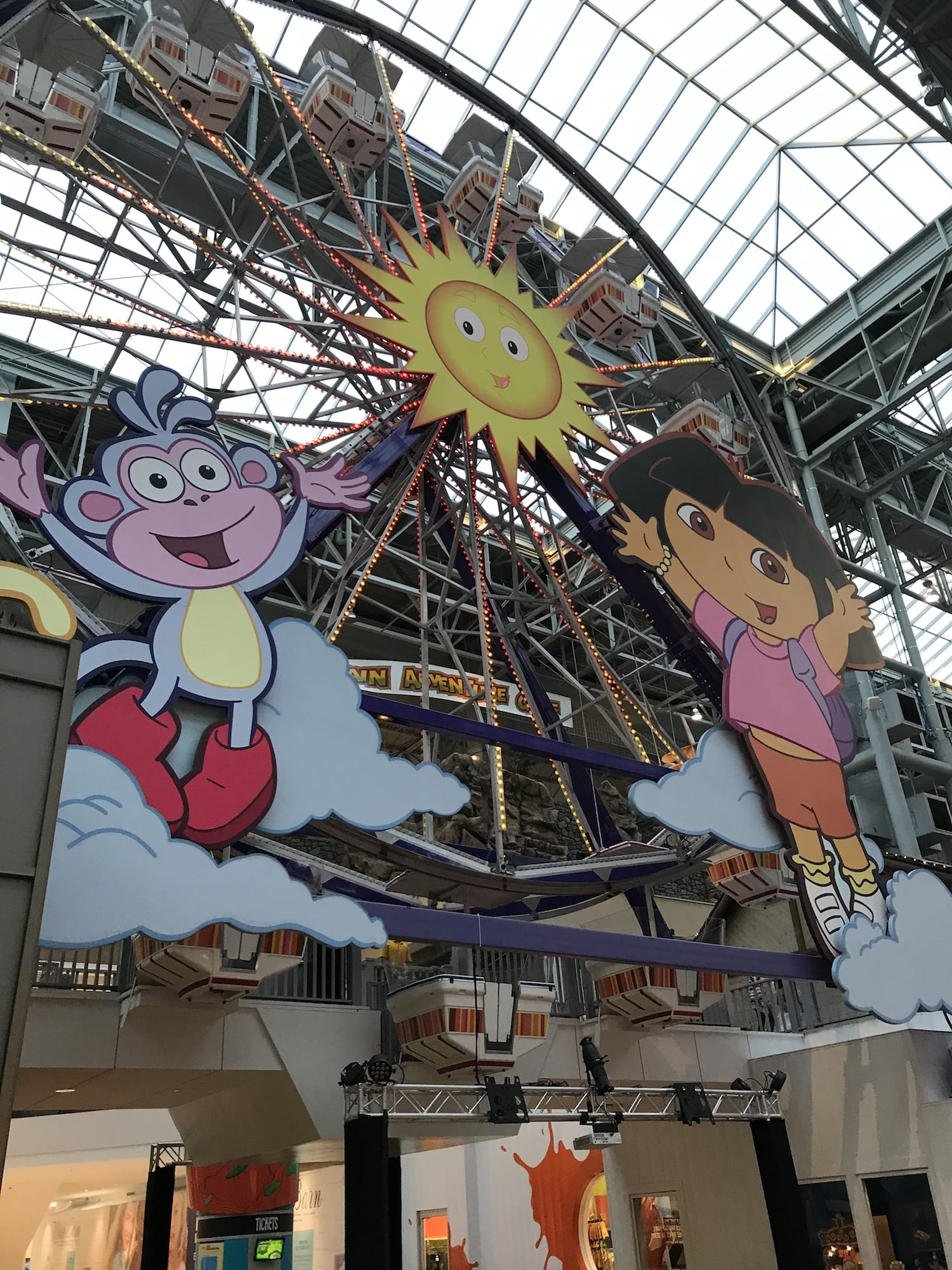 NIckelodean Universe at Mall of America