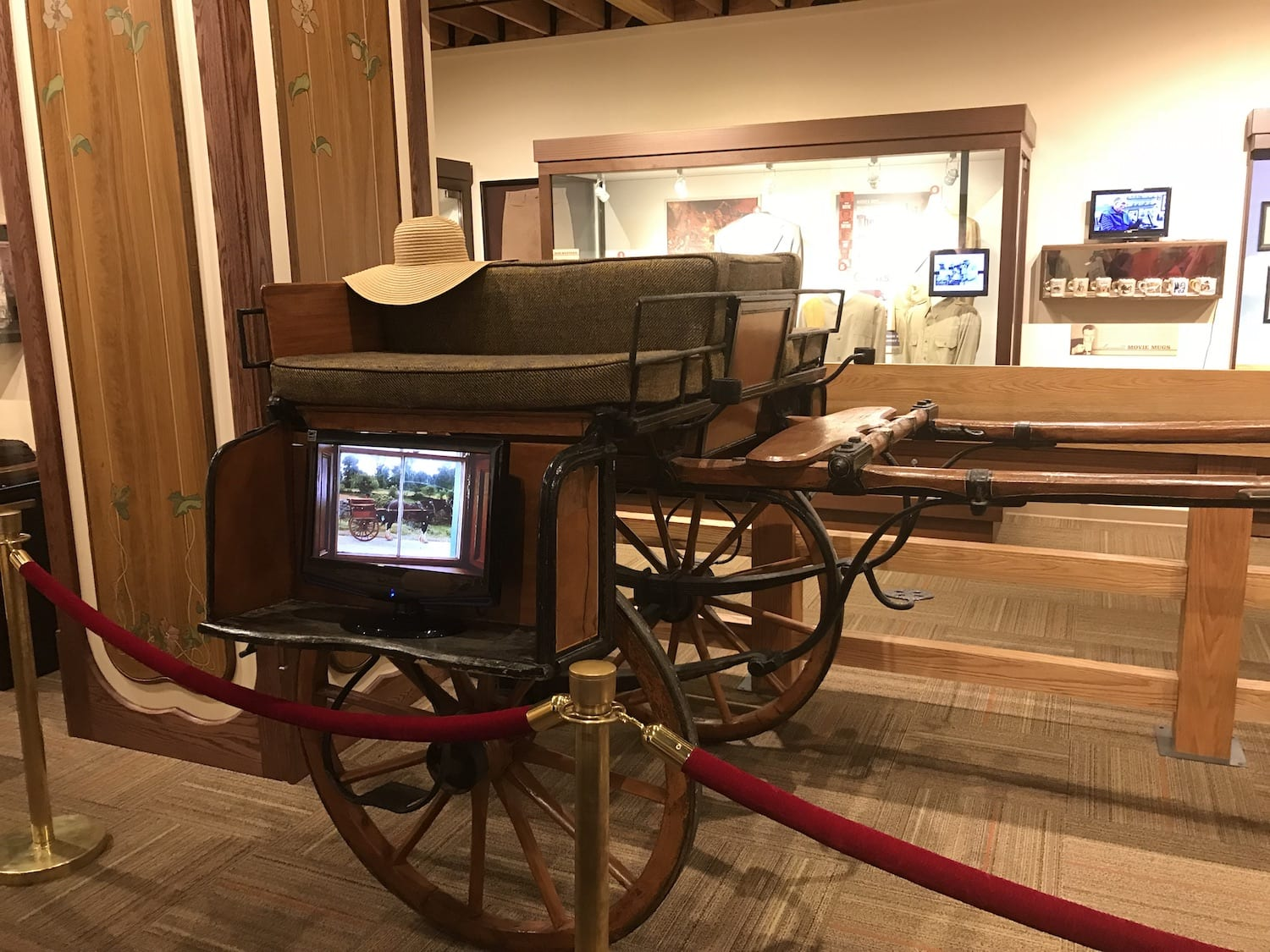 Wagon from The Quiet Man - John Wayne Birthplace Museum Winterset Iowa
