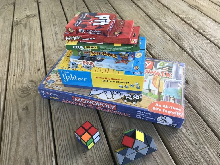 How to Take Family Game Night on the Road