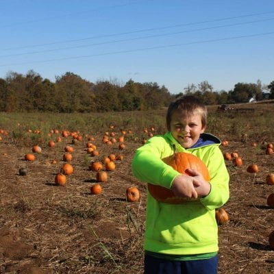 Fall Pumpkin Patch Fun