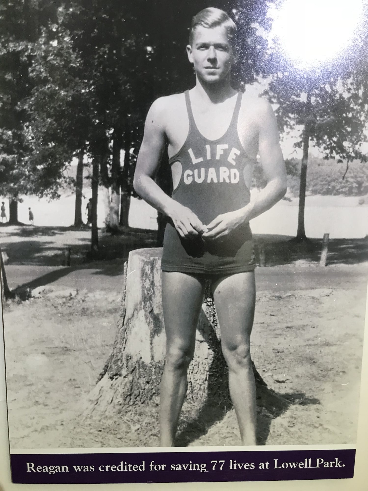 Ronald Reagan Lifeguard picture from Dixon, Illinois