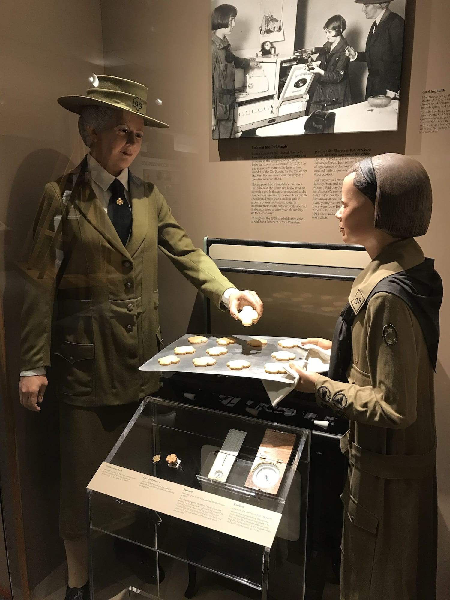 Girl Scout Leader - Lou Henry Hoover - First Lady