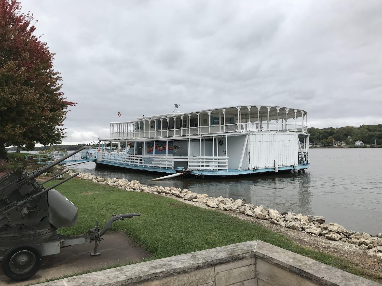 Mississippi River in LeClaire Iowa
