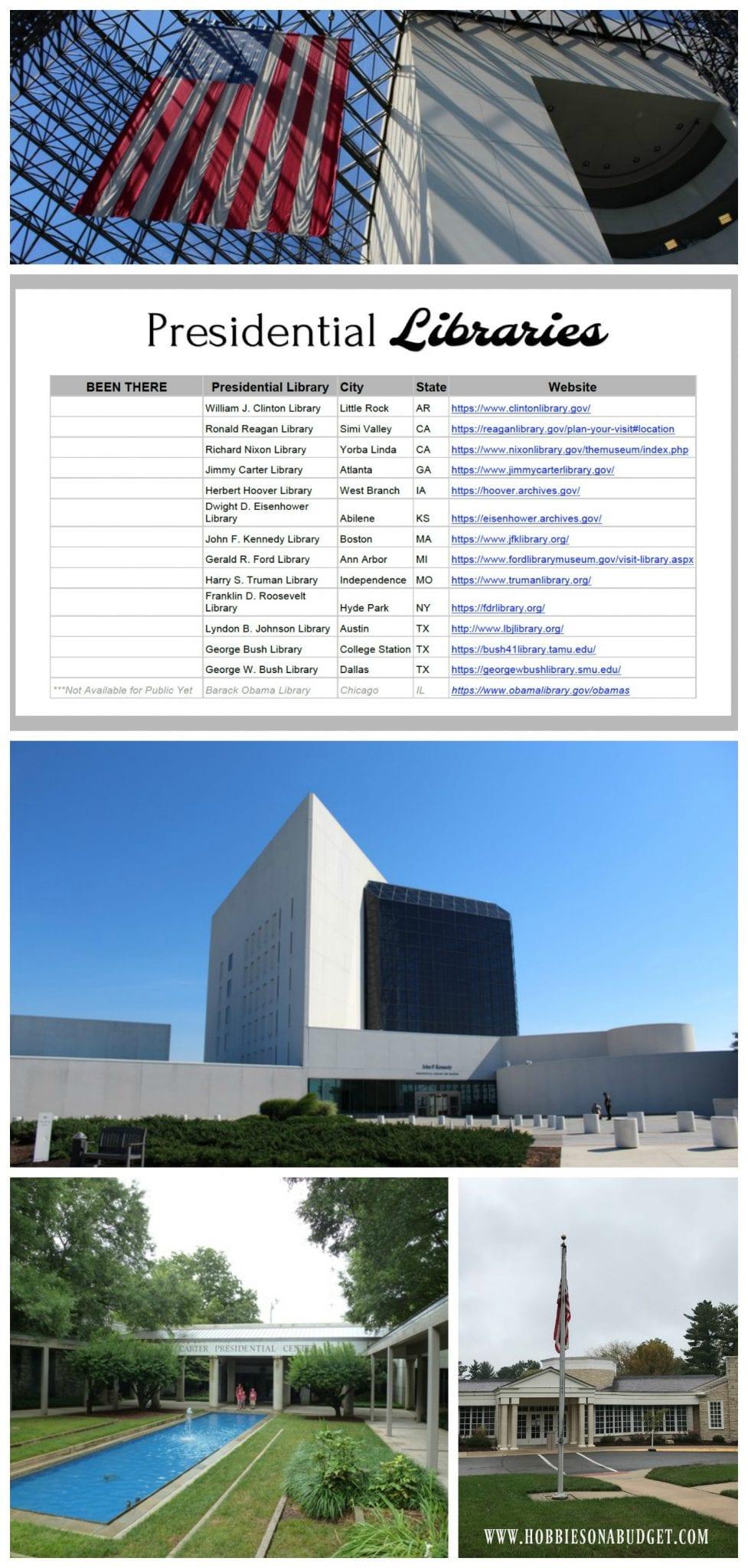 Presidential Libraries US