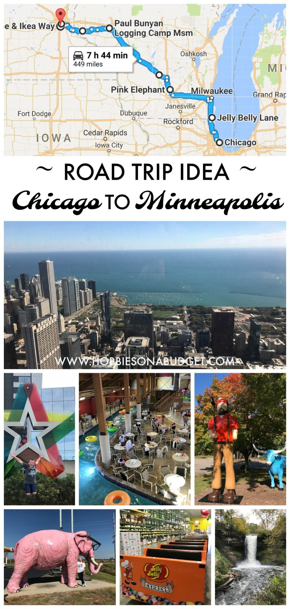 Road Trip Idea: Chicago to Minneapolis