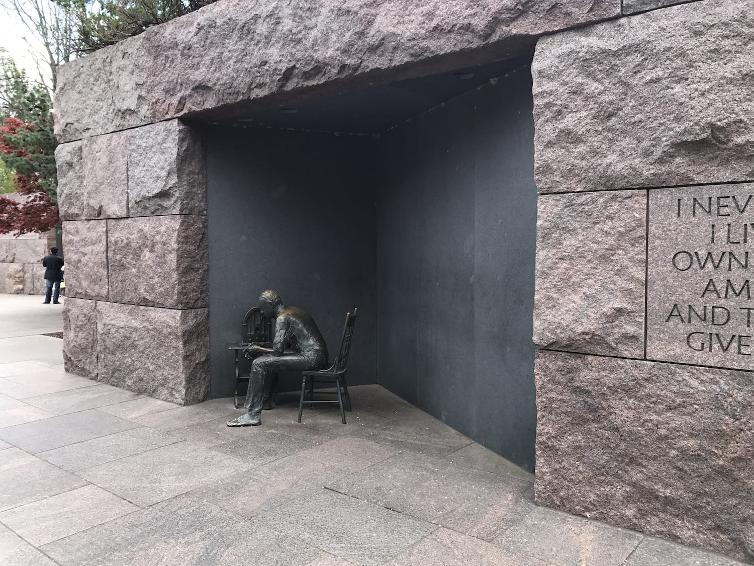 Roosevelt Memorial - Fireside Chat