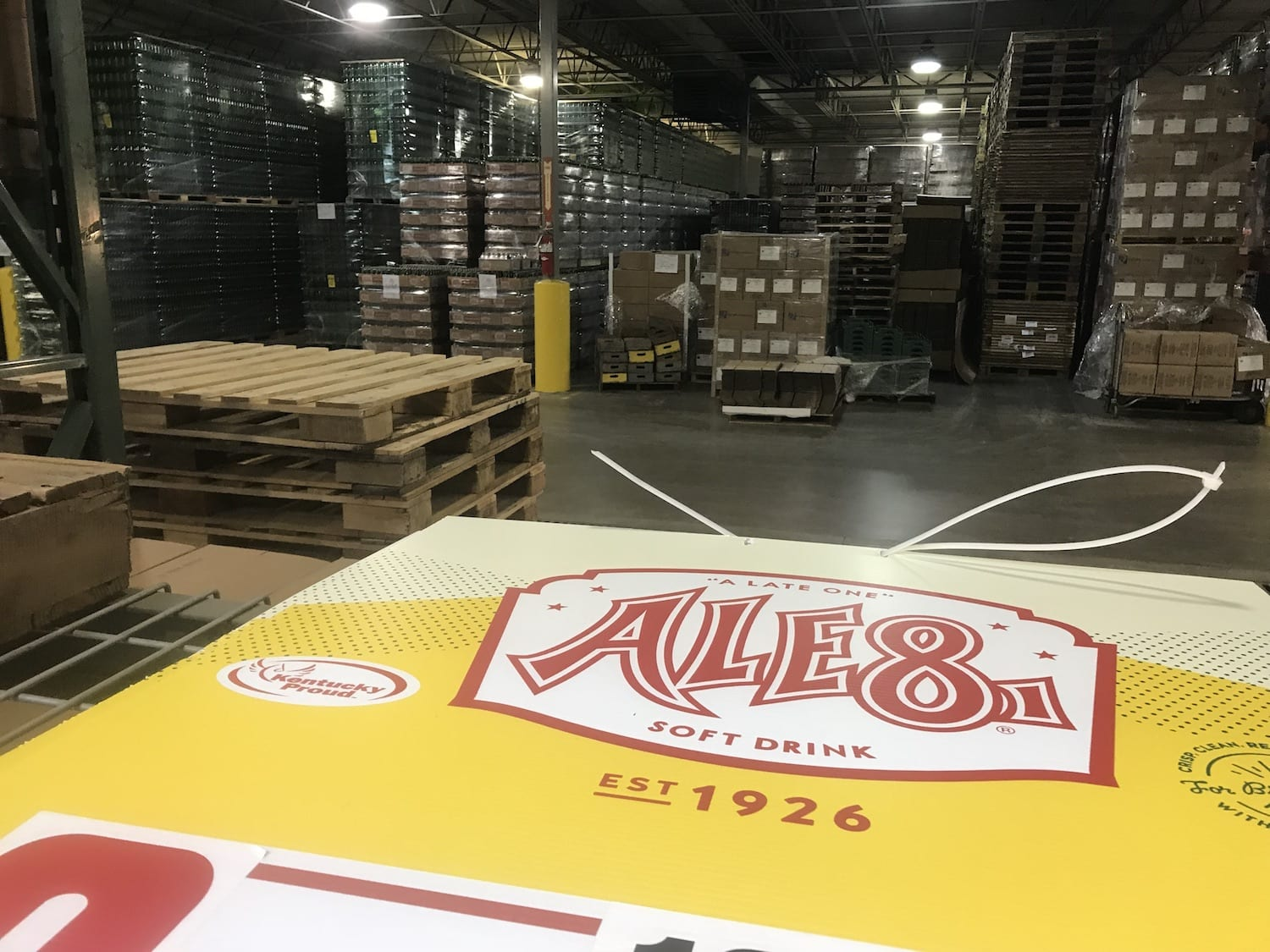 Ale-8-One Factory tour