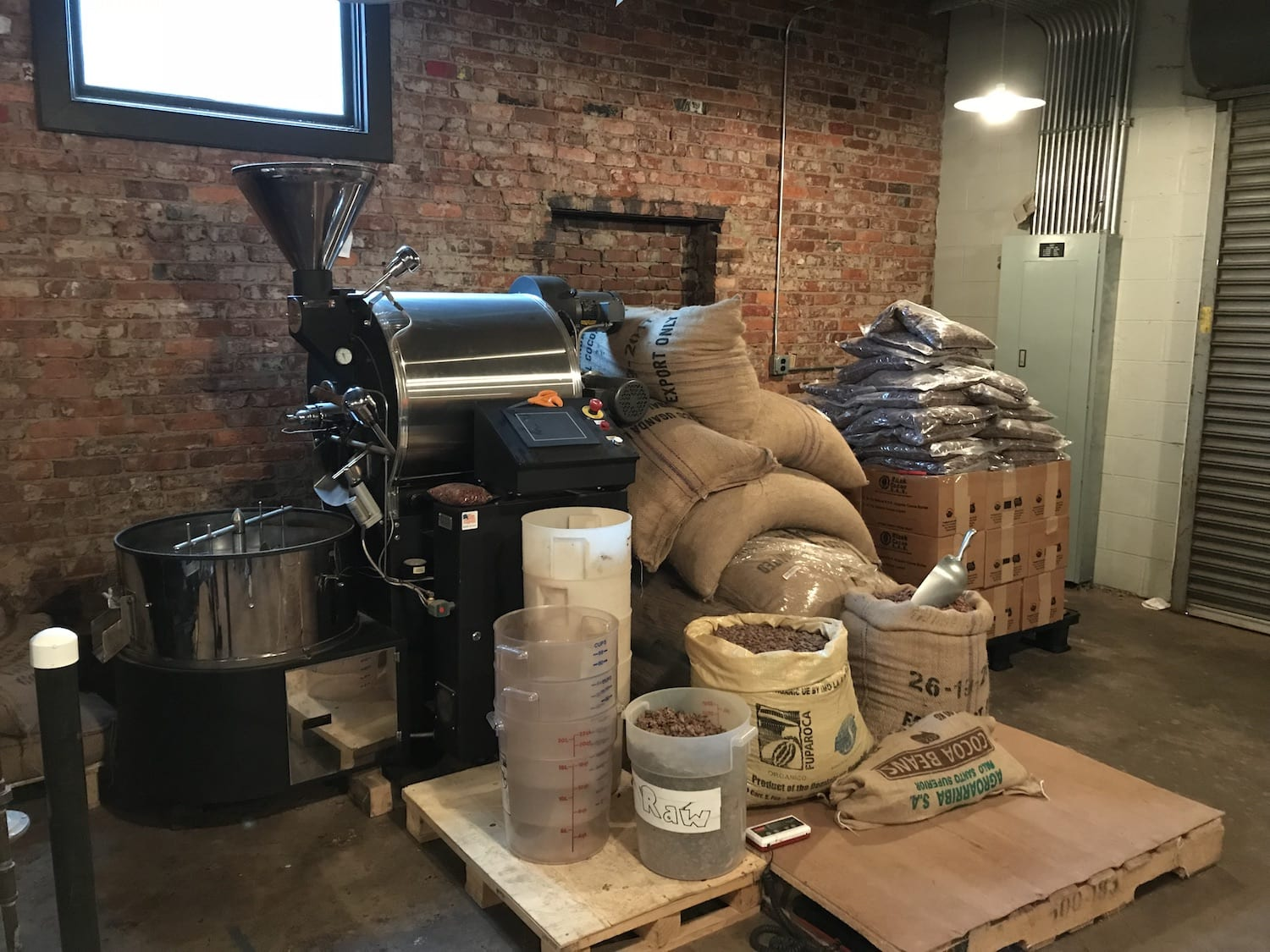 Olive & Sinclair Chocolate Company Bean to Bar Process