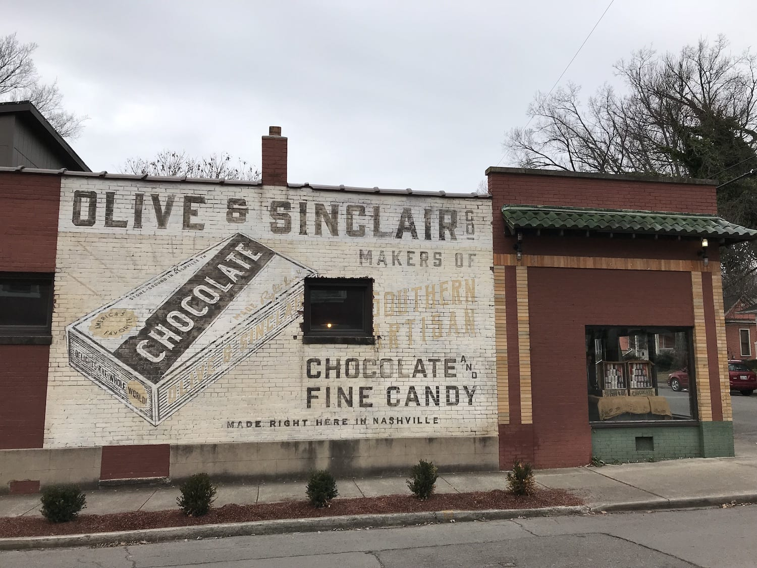 Olive & Sinclair Chocolate Company Nashville Tennessee