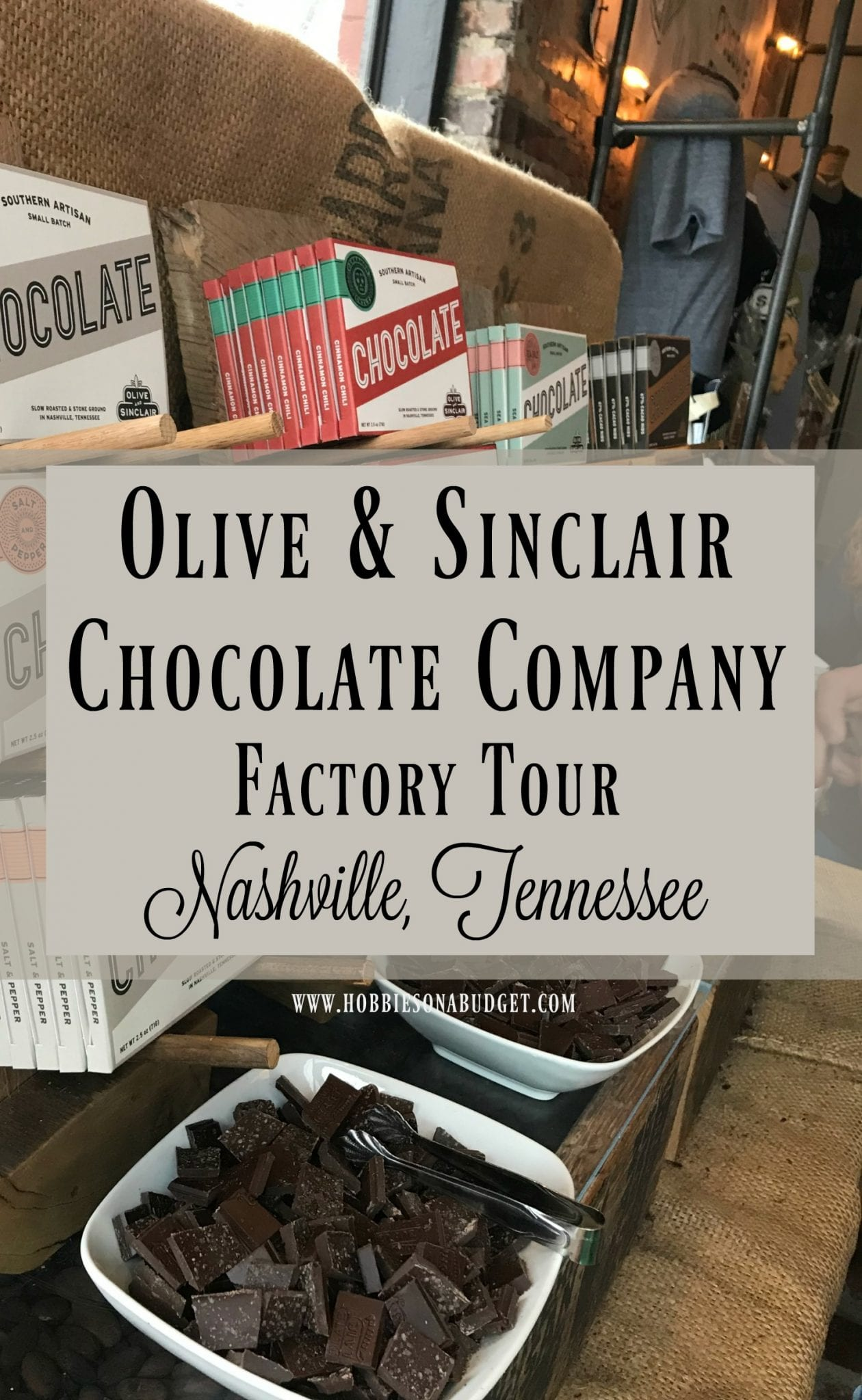 Olive & Sinclair Chocolate Company Factory Tour