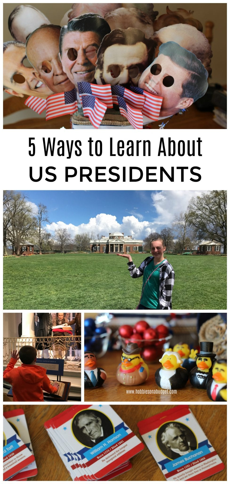 5 Ways to Learn about US Presidents