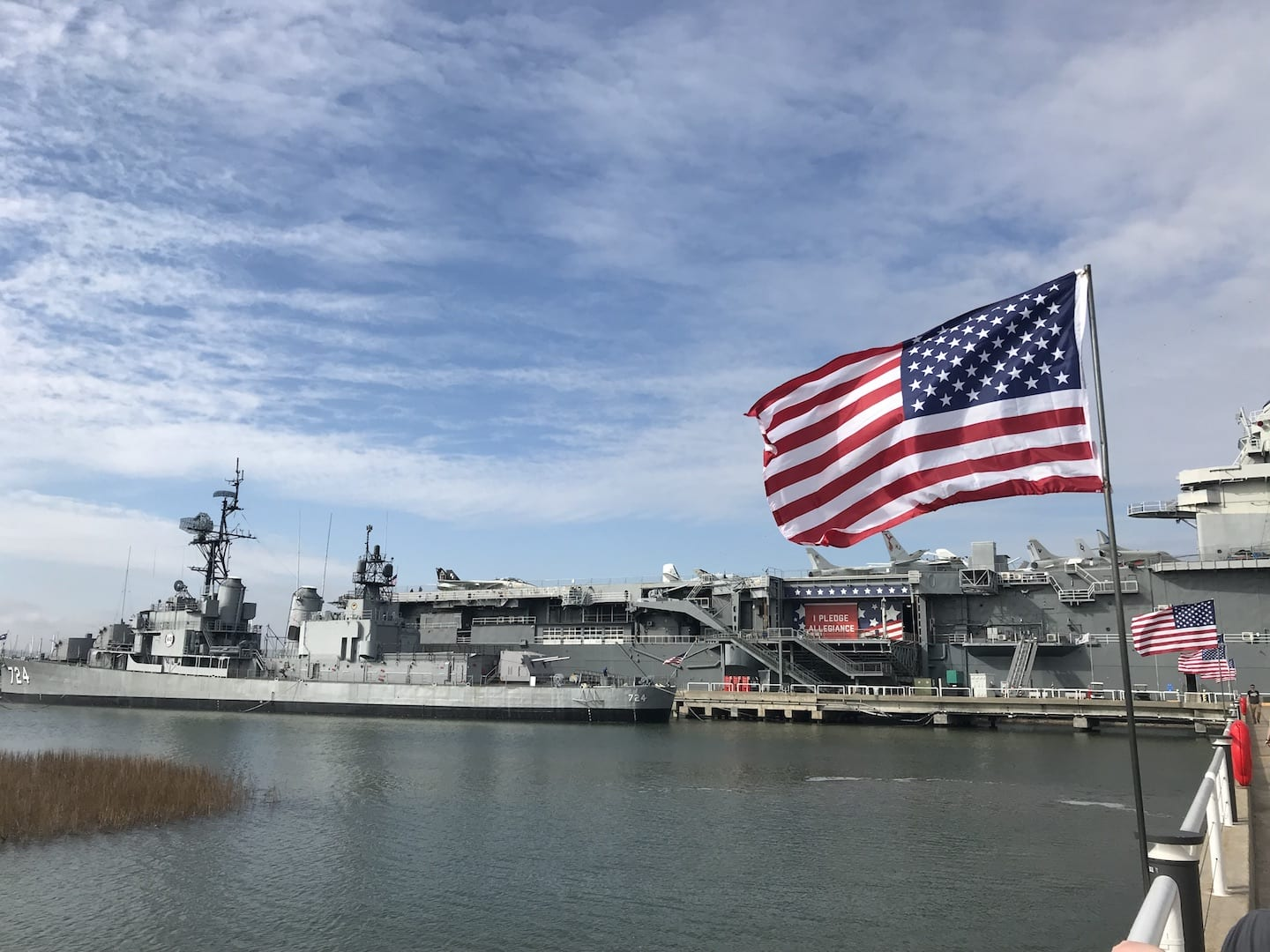 USS Laffey & Yorktown Patriots Point