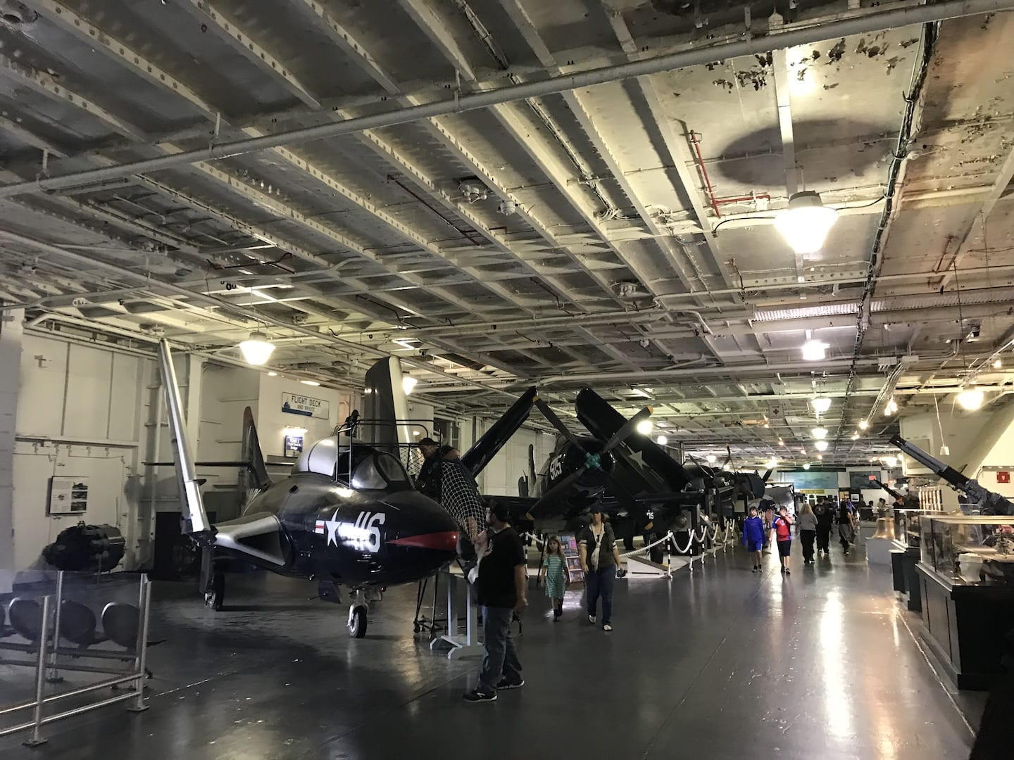 USS Yorktown Exhibits