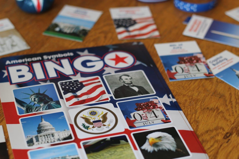 American Symbol Bingo
