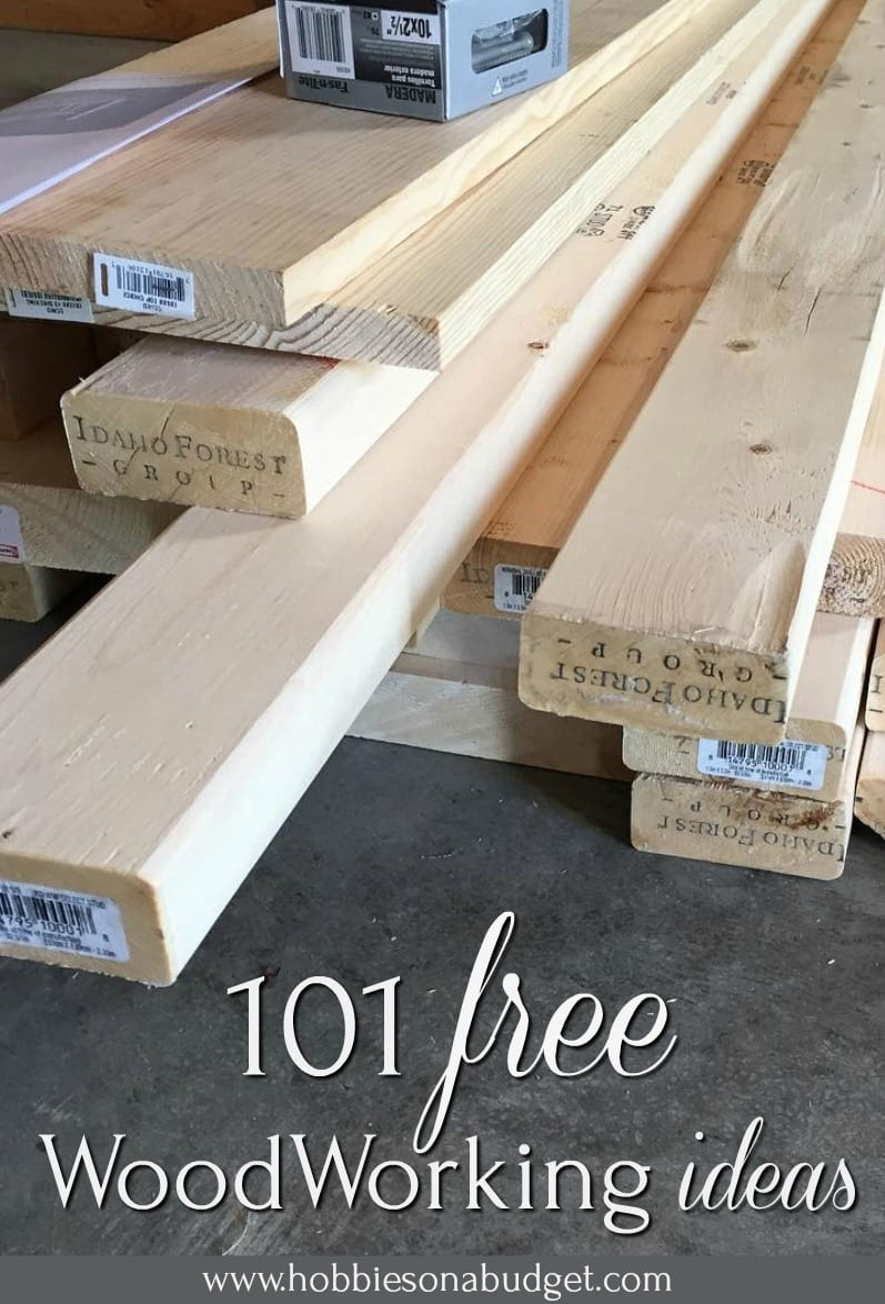 101 Free Woodworking