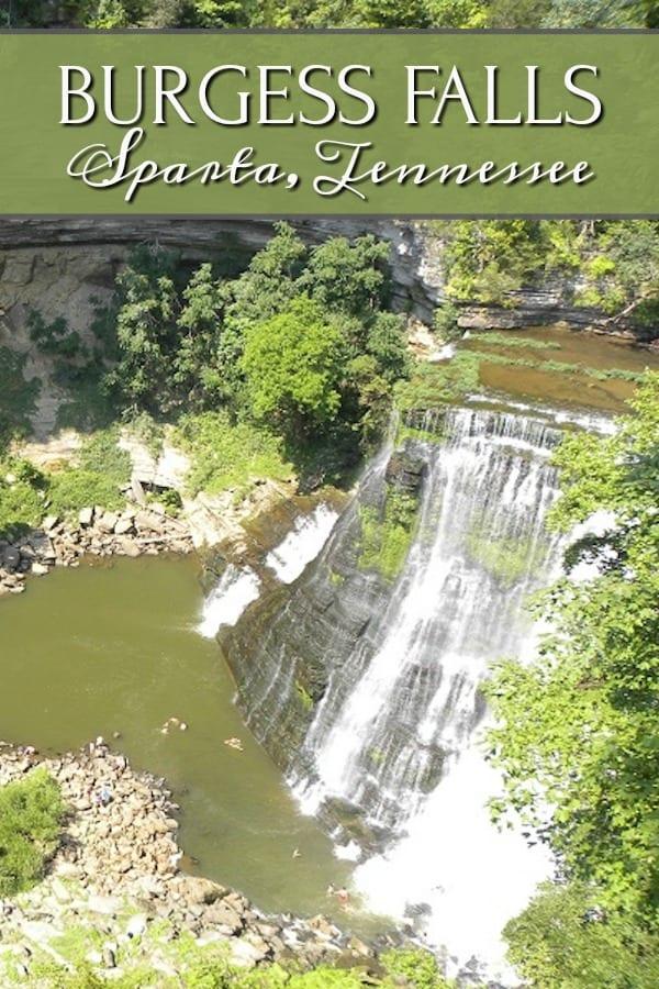 Burgess Falls Sparta Tennessee