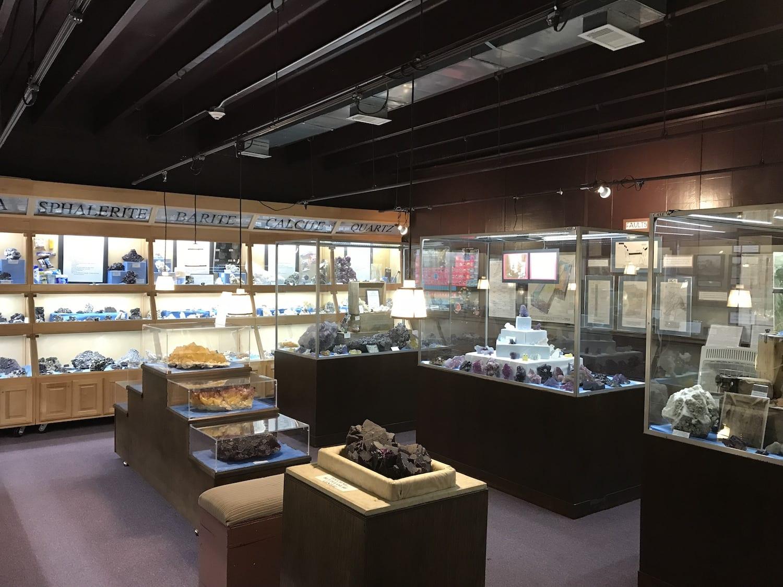 Ben E Clement Mineral Museum