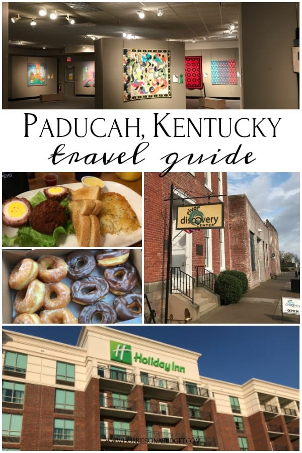 If you are looking for a place in Kentucky where you can explore your creative side, be amazed and inspired by the quilts of today, then this Paducah travel guide is for you!Here is where to stay, what to eat, things to do and even where to drink your morning coffee! #creativepaducah #paducahcreativecity #travelguide #kentucky #kytravel #roadtrip #vacation