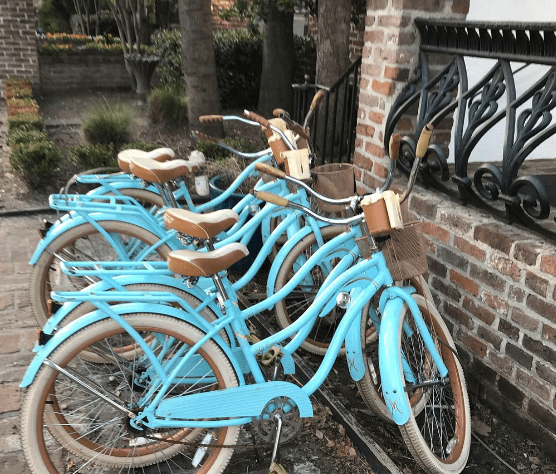 bicycles in Charleston