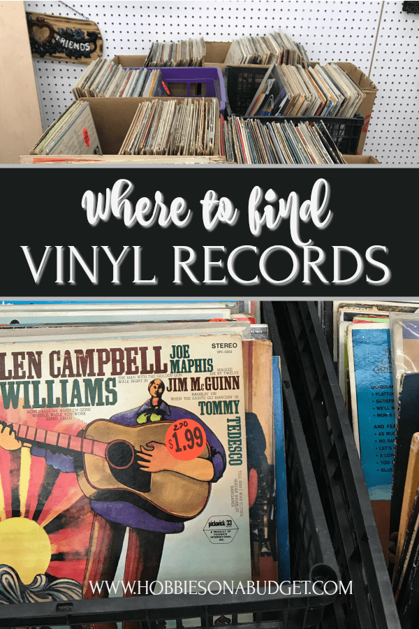 Where to find vintage vinyl records