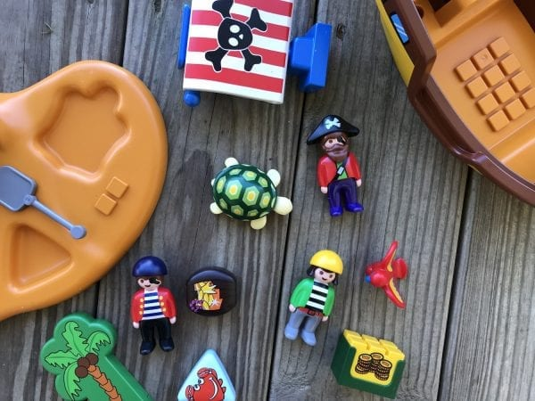 PLAYMOBIL 123 Pirate Ship