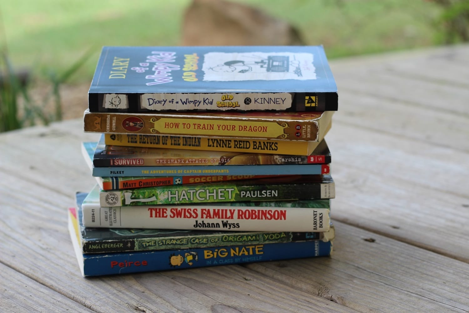 Real Books for 4th Grade Boys