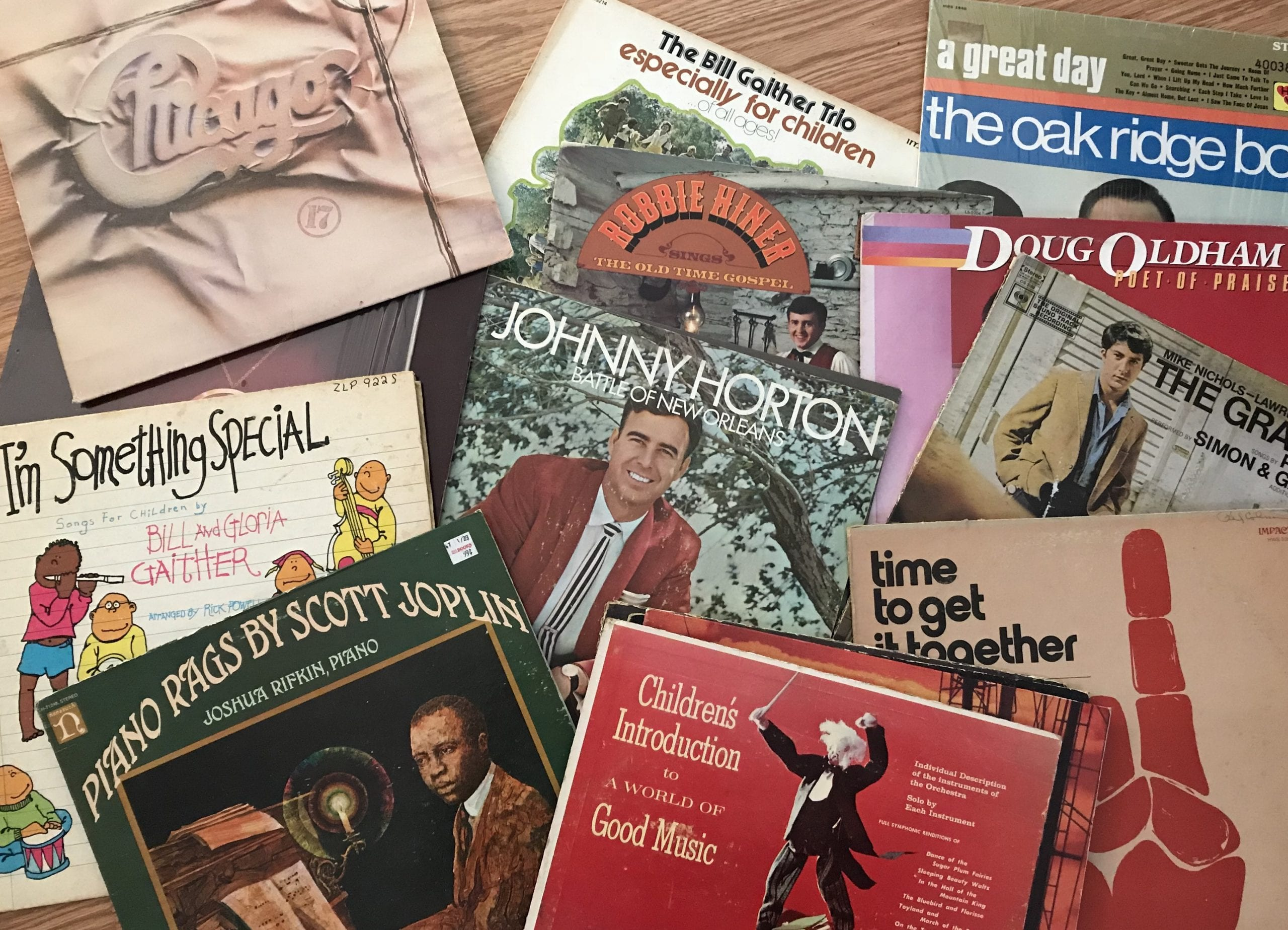 Favorite Vintage Vinyl Records
