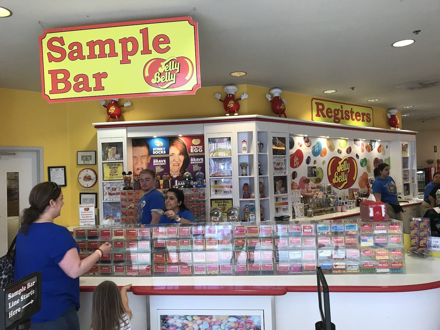 Jelly Belly Sample Bar