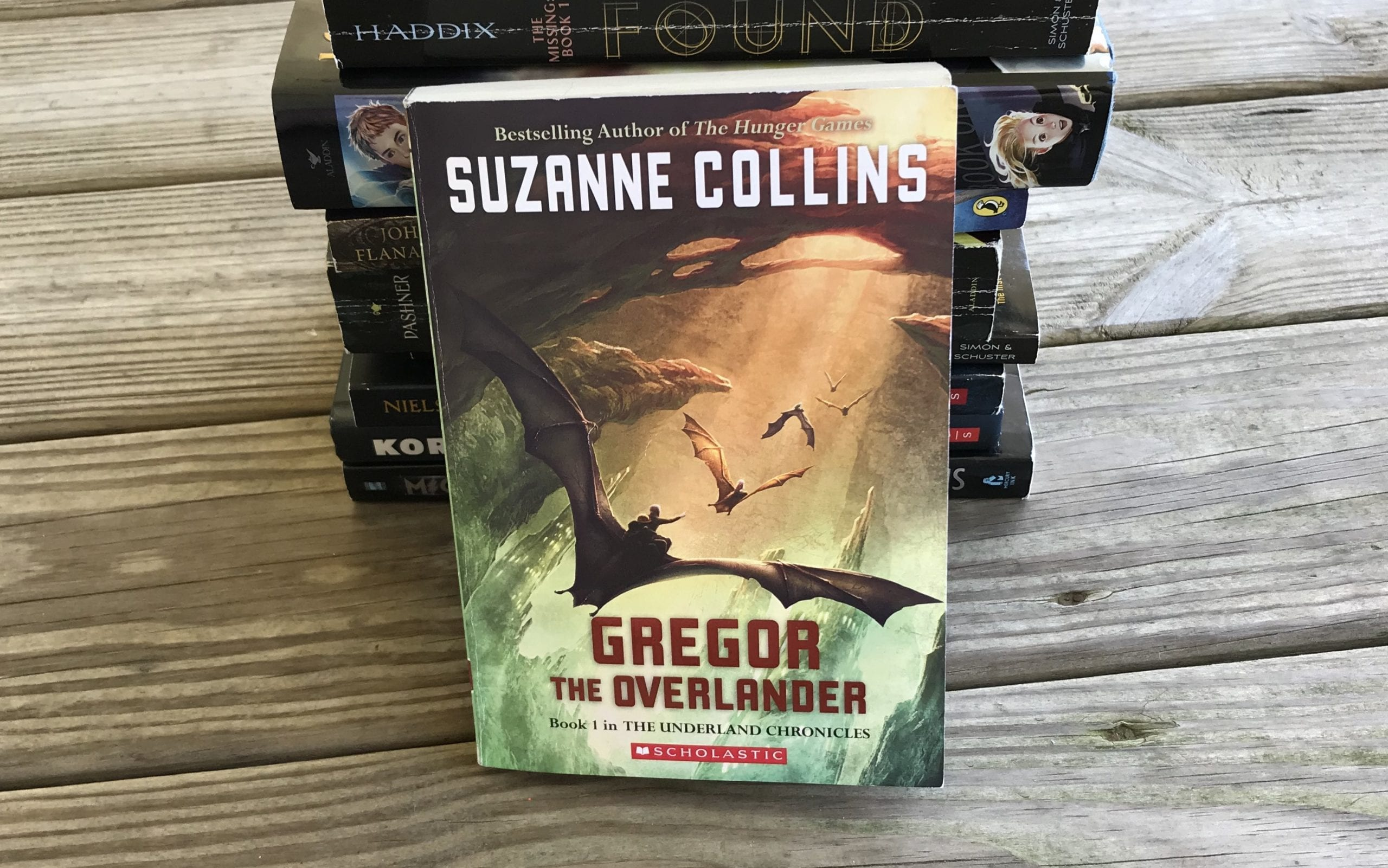 gregor the overlander suzanne collins