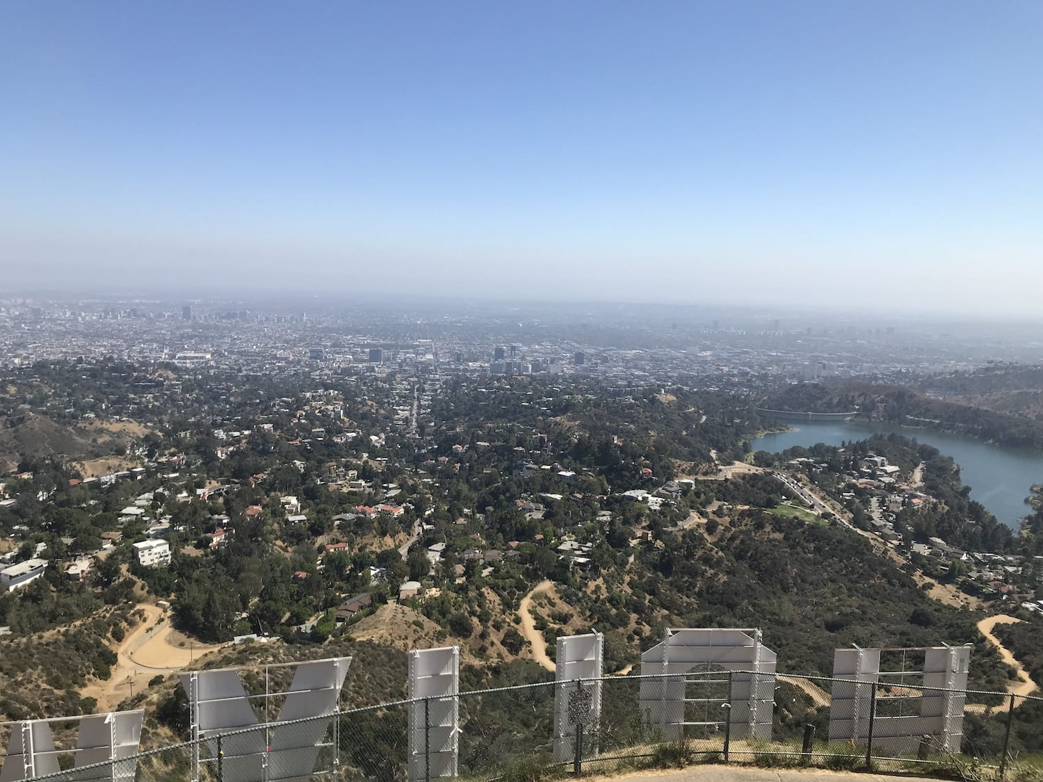 Hollywood Sign Overlook