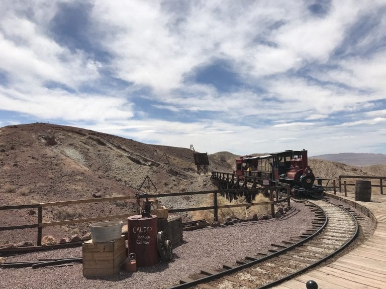 Experience Calico Ghost Town