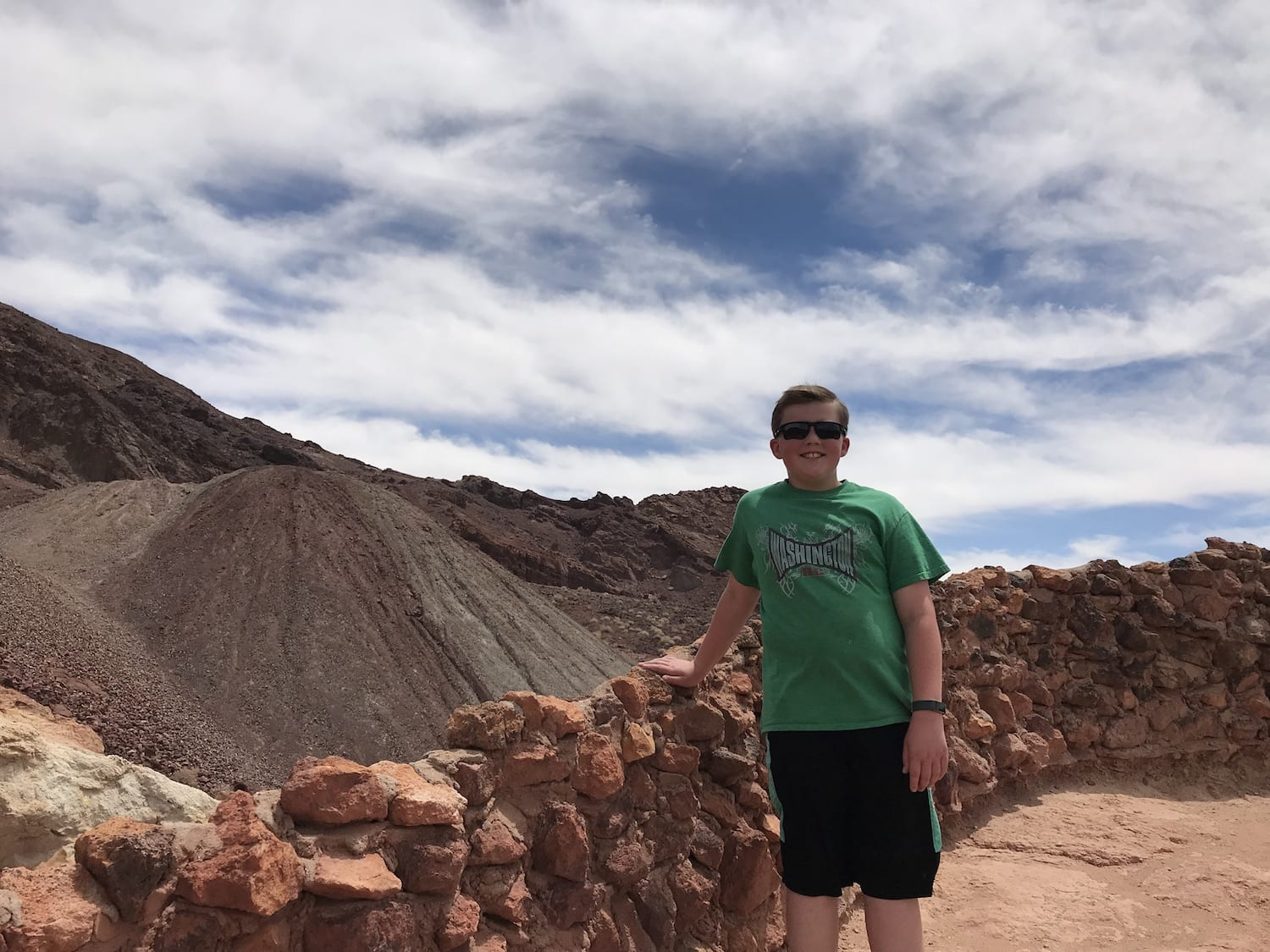 Luke at Calico Ghost Town
