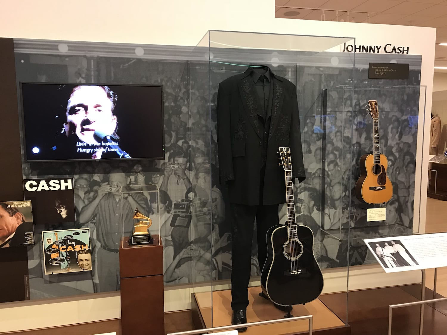 Johnny Cash Exhibit Artist Gallery