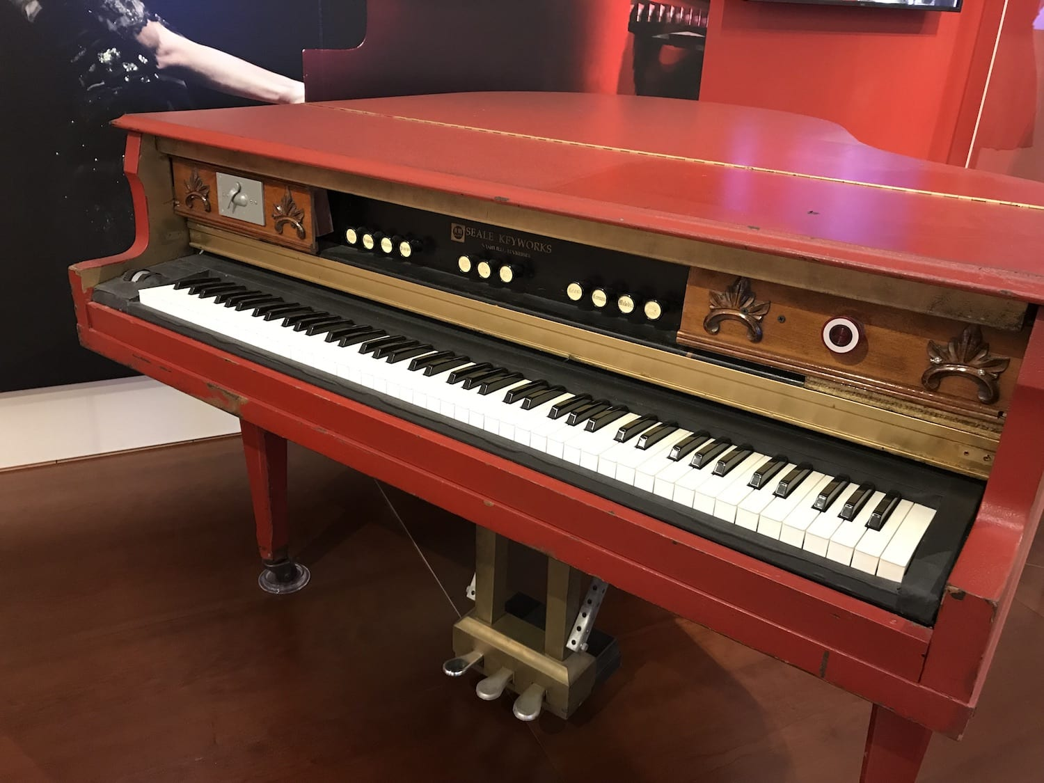 Taylor Swift Piano Artist Exhibit