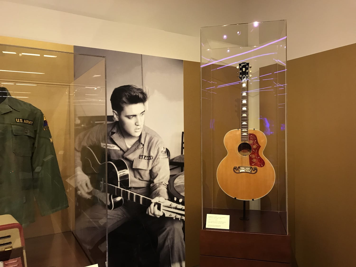 Elvis Presley Artist Exhibit