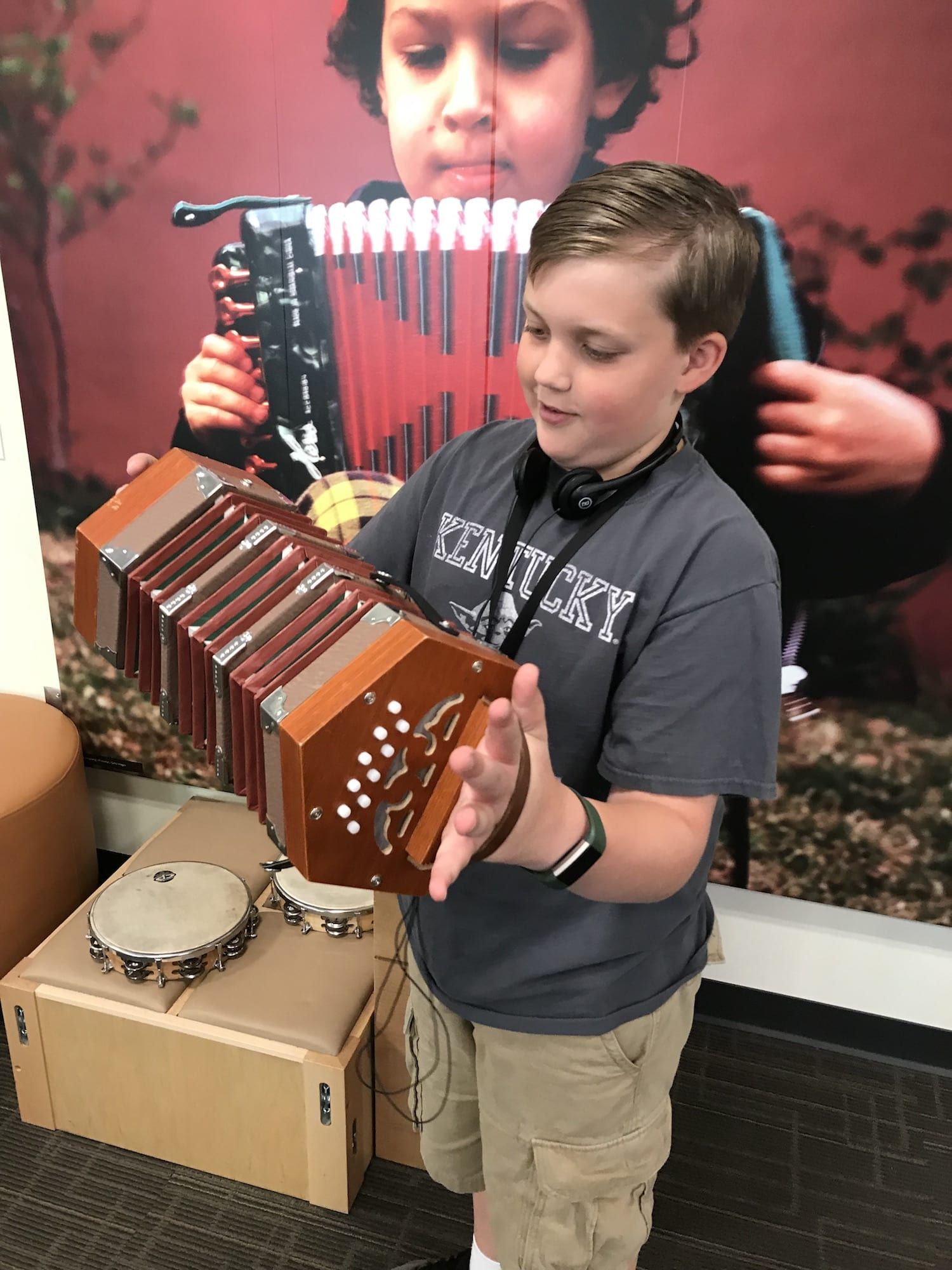 Luke on the Concertina